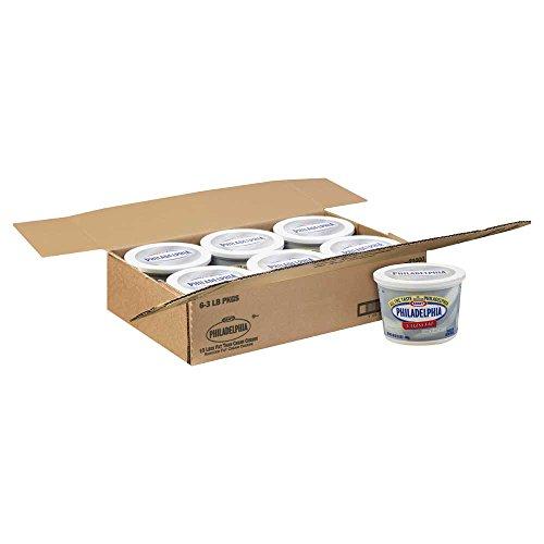 Kraft Philadelphia Light Cream Cheese - Tub, 3 Pound -- 6 per case. by Philadelphia (Image #2)