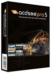ACD Systems ACDSee Pro 5 - Software de gráficos (1 usuario(s), 250 MB, 512 MB, Intel Pentium III/AMD Athlon, DEU)