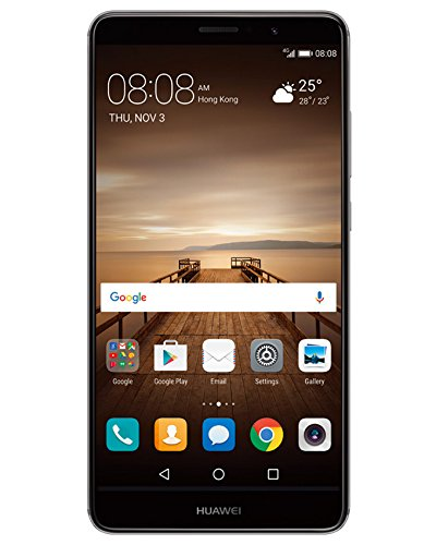 Huawei Mate 9 4GB Ram 32GB Storage Black - Dual SIM, 4G LTE, Multi-Language, Google Play Store, 1 Year Warranty