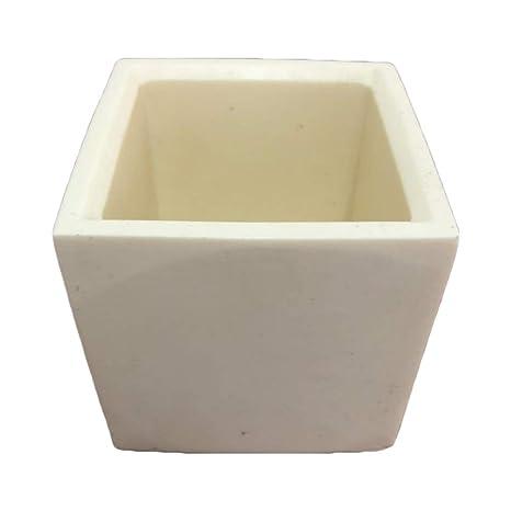 Amazon Com Pinkie Tm Square 10x10cm Cement Flower Pot