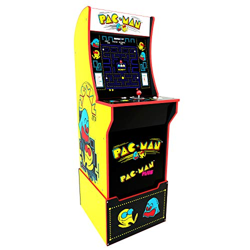 Arcade 1Up Pac-Man Deluxe Arcade System with Riser,, used for sale  Delivered anywhere in USA