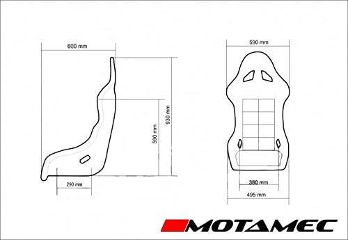 MOTAMEC Racing EVO-One Fia - Soporte Lateral para Asiento de ...