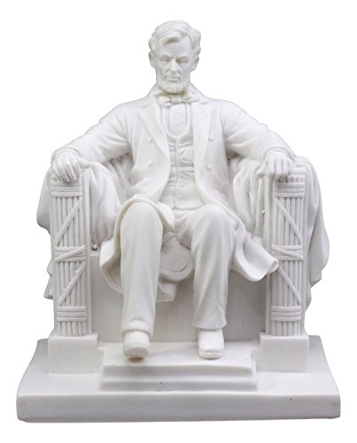 Ebros Small Seated Abraham Lincoln Figurine 5