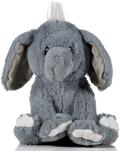 earthMonkeys Elephant Stuffed Animal | Cutest Stuffed Elephant Plush for Any Child or Grandchild!