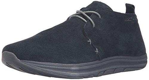 Altra Men's Desert Boot Everyday Shoe, Black/Gray, 11.5 M US