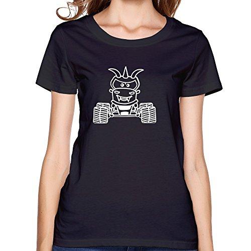 Make Custom Hot Topic Women Unique T-shirt/monster Truck Black