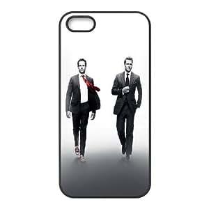 iPhone 4 4s Cell Phone Case Black hc24 suits drama film actors Xwnpz