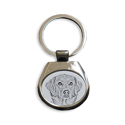Art Dog Ltd. Nova Scotia Duck Tolling Retriever, New keyrings with Purebred Dogs, Unique Gift, Sublimation -