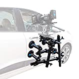 PROAIM Action-Grip Scaffold Tubes Car Vehicle Suction Mount for 3-Axis Camera Gimbals Pan Tilt Head Isolator Arm   Direct Camera Mounting  Tool-Less Payload 50kg 110lb + Flight Case CM-ACGP-01