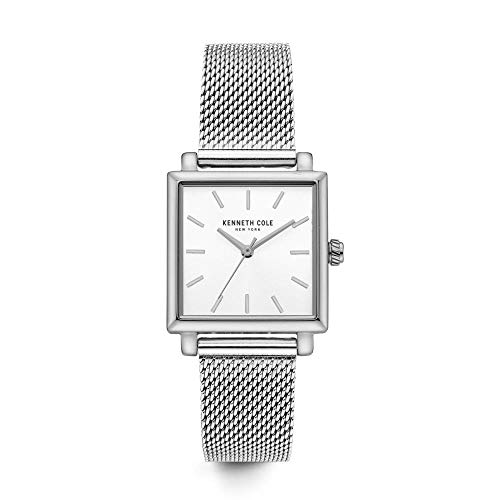 Kenneth Cole New York Women's Quartz Stainless Steel Casual Watch, Color:Silver-Toned (Model: KC15175009