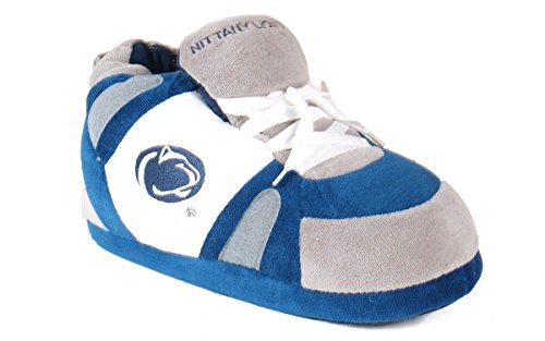 Penn State Nittany Lions Walking - PSU01-2 - Penn State Nittany Lions - Medium - Happy Feet Men's and Womens NCAA Slippers