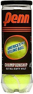 Penn Championship Extra Duty Tennis Ball Can, 3 Balls