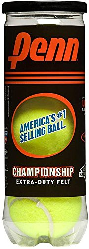 Penn Championship Extra Duty Tennis Ball Can, 3 Balls