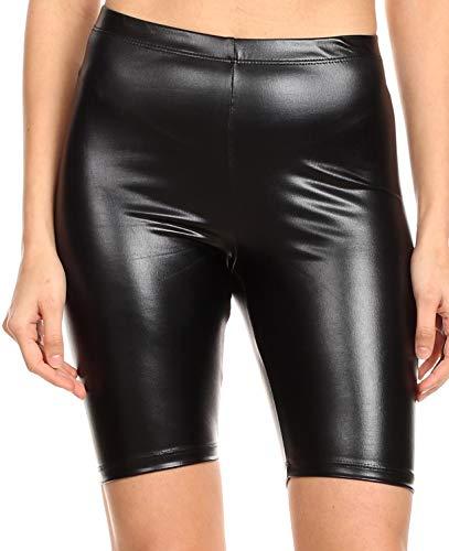 dbc2d72ab7ad6e Sakkas 18-5212 - Women's Shinny Metallic Bike Shorts Stretchy Unisex - Made  in USA
