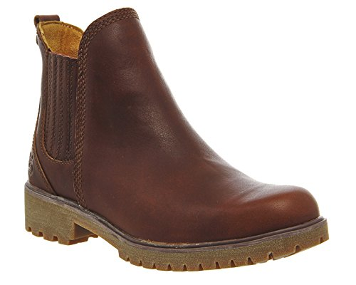 Timberland Lyonsdale Ladies Chelsea Boot Cognac Forty Leather