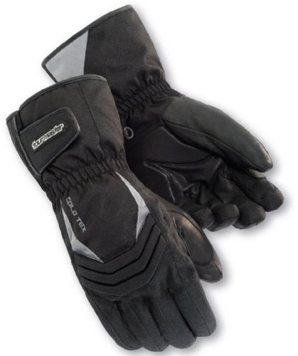 Tourmaster Cold-Tex 2.0 Winter Motorcycle Glove Black X-Large - Gloves Tex Black Cold