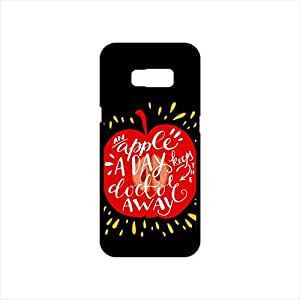 Fmstyles - Samsung S8 Mobile Case - An Apple a day keeps doctor away