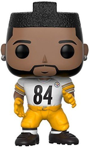 Funko Pop NFL: Antonio Brown (Steelers Color Rush) Collectible Figure - Brown Pop