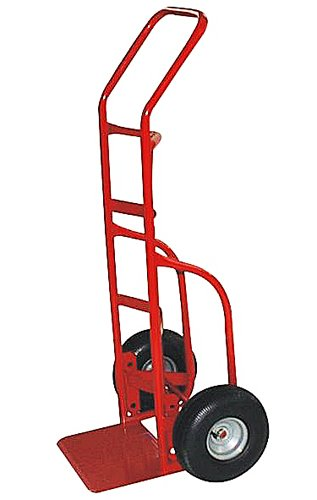 Milwaukee Hand Trucks 33012 Heavy Duty Flow Back Handle Truck with 10-Inch Pneumatic (Flow Back Handle Truck)