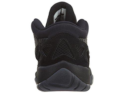 Nike Mens Nero Scarpe Da Mamba, Giro Giallo / Corte Viola, 8.5 Nero