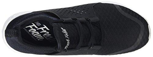 White para Balance Mujer Wcruzv1 Running de New Zapatillas Negro Black pXzZq