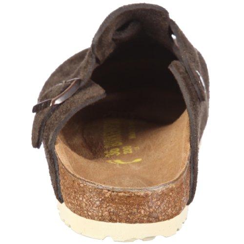 Birkenstock BOSTON  VL - Zuecos de ante unisex marrón - moca