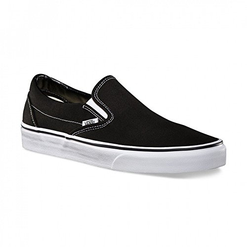 SLIP CLASSIC black ON Vans nero Slipper SqOBxC