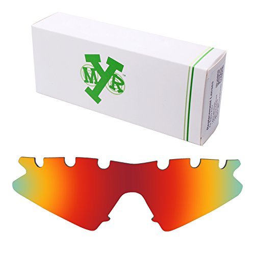 Mryok UV400 Replacement Lenses for Oakley M Frame Sweep Vented - Fire (Uvc Light Sweep)
