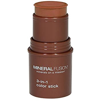 Mineral Fusion 3-in-1 Color Stick, Berry Glow.18 Ounce mf2101