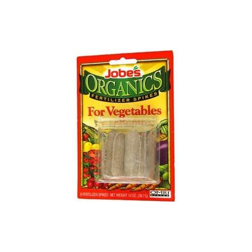 Jobe's Organics Fertilizer Spikes for Bountiful Vegtables
