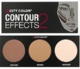 City Color Contour Effects 2 Palette 2 - Contour, Bronze & Highlight