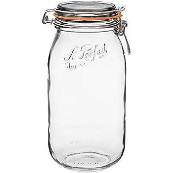 1 Le Parfait Super Jar - Discontinued (1, 2000ml - Two Liter)
