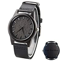 Wood Men Watch Engraved Personalized Wooden Watch Groomsmen Watches Wedding Gift Watch Free Engraving