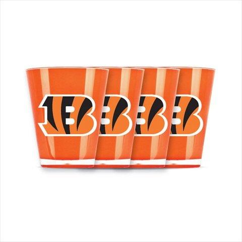 Duckhouse 4 Piece Shot Glass Set - Cincinnati Bengals