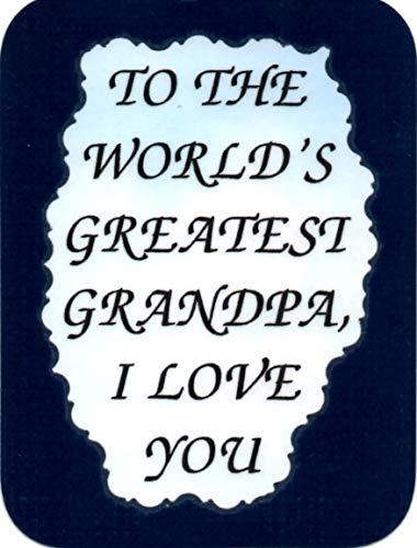 World's Greatest Grandpa I Love You 3