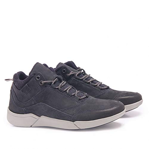 Marino Piel Azul Castellanisimos Sport De Hombre Blu Zapatos gwOpqT