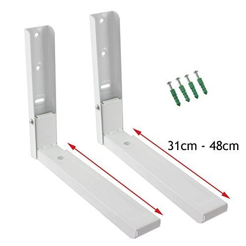 spares2go-extendable-wall-mounting-brackets-for-tesco-microwave-white