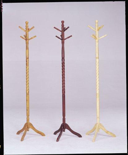 ACME 06323 Set of 4 Grady Coat Rack, Oak Finish