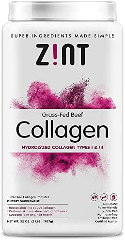 Zint, Dietary Supplements (Hydrolyzed Collagen Types I & III, 32 oz)