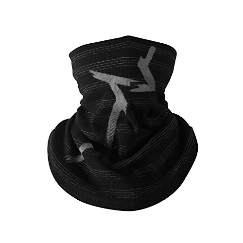 Game Aiden Pearce Face Tube Mask - Warmer Scarf - Embroidered Baseball Hat Halloween Party Cosplay Prop(Scarf)]()