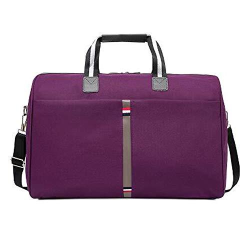 - Foldable Portable Shoulder Bags Waterproof Men'S Travel Bag Travel Luggage Travel,Smell Violet