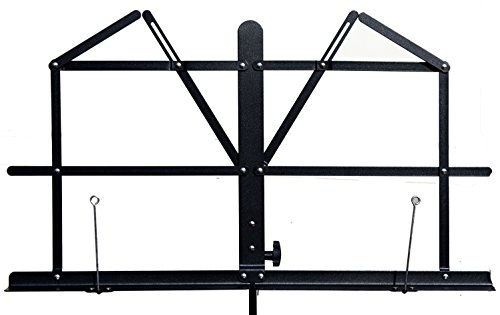 Hisonic Signature Series 7121 Two Section Folding Music Stand with Carrying Bag by Signature Music Instruments (Image #6)