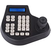 RANYOU 4 Axis Dimension CCTV Access Control Keypad LCD Screen Display Joystick Keyboard Controller for PTZ Cam Camera