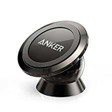 Anker Universal Magnetic Car Mount - Ultra-Compact Phone Holder for iPhone 7 / 7 Plus / 6s / Samsung Galaxy S8 / S7 / S6 and more