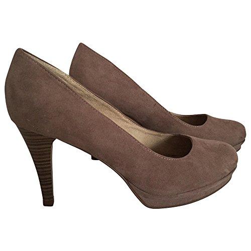 Tamaris, 1 -  1 - 22434-24-343, da. - Zapatos de tacón, Gris/343PEPPER SUEDE