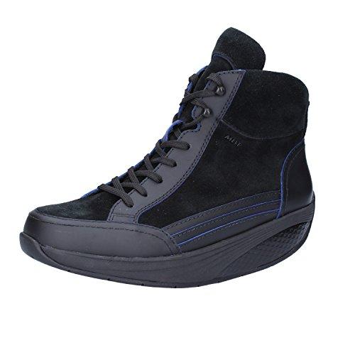 MBT , Damen Sneaker 37 Nero / Blu