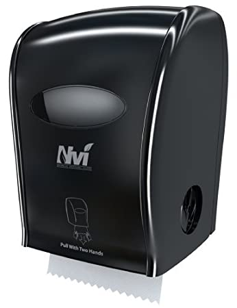 D68006 Nvi dispensador manual de manos libres, negro