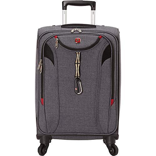 SwissGear TravelGear 1900 22' Carry-On Spinner Luggage - (Black)
