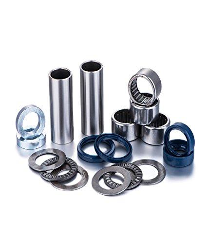 Swing Arm Bearing Kits by Factory Links, Fits: Yamaha WR 250F (02-05), 426F (02-02), WR & YZ 450F (03-05), YZ 125 (02-04), YZ 250 (02-15), YZ 250F (02-06)