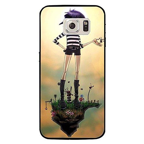 Samsung Galaxy S7 Hip-Hop Music Band Cell Cover Fashion Noddle AlternativePop/Rock Rap Band Gorillaz Phone hülle Handyhülle Cover for Samsung Galaxy S7,Telefonkasten SchutzHülle